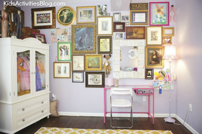 Beautiful Shared Room for Girls {Room Makeover}