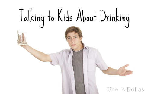 talking to kids about drinking