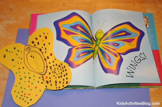 Far Flutterby Metamorphosis Book Activity for Kids