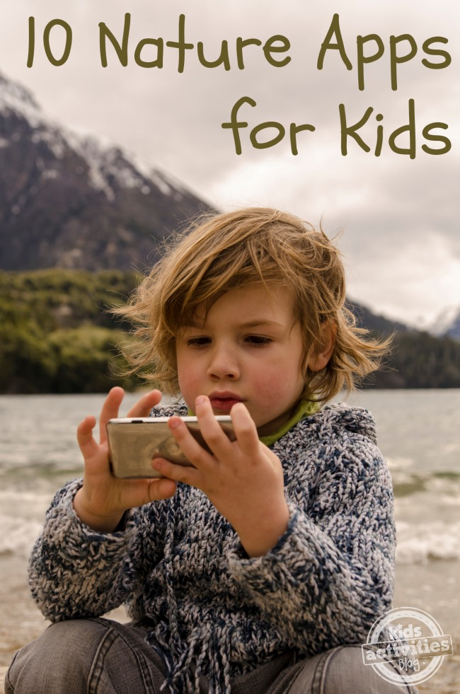 10 Nature Apps for Kids featured on Kids Activities Blog