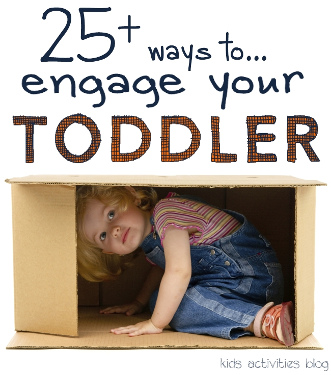 25 Super Simple Activities: Bucket List for the Toddler Years {Your kids will love them}
