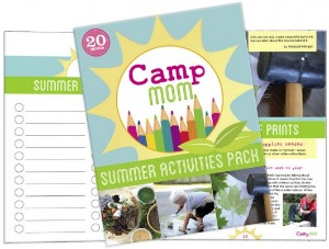 Camp Mom Summer Activities Pack