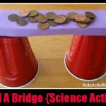 Build a Bridge Science Activity for Kids {Bridge Designs}