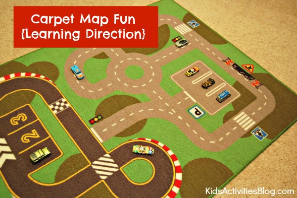 Learning Direction: Carpet Map Fun