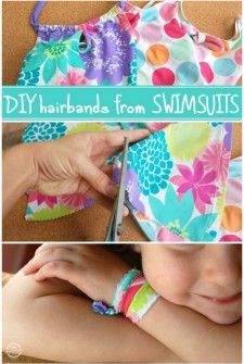 Girly Things: How To Make a Hairband or Bracelet