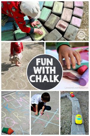 8 Unique Games With Chalk