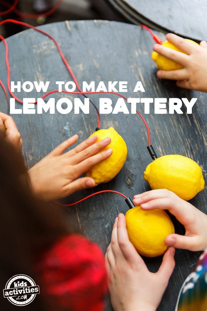 Science for Kids: Make a Lemon Battery {Science Fair Ideas!}