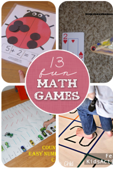 13 Fun Math Games for Kids