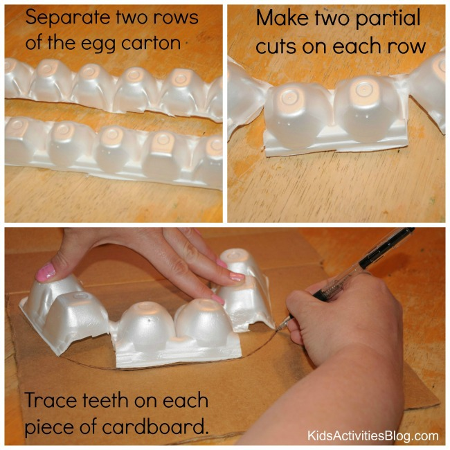Make a model mouth to help kids learn how to brush your teeth