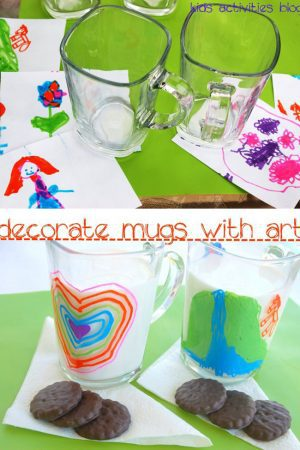 Sharpie on a Mug: Kids Art