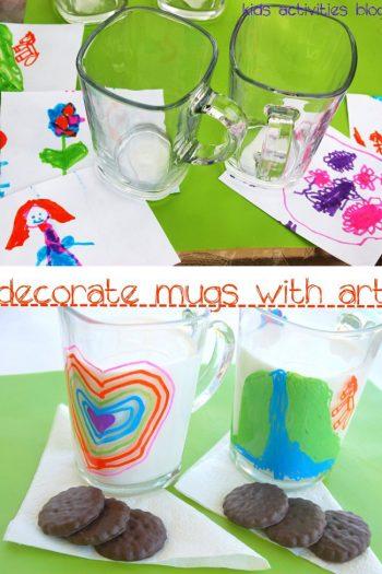 Sharpie on a Mug: Kids Art