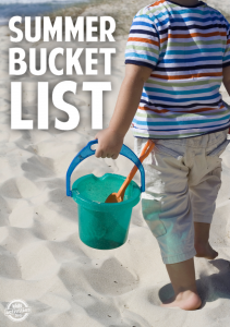 Create Your Summer Time Bucket List!
