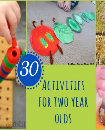 Two Year Olds: 30 Activities for Having Fun