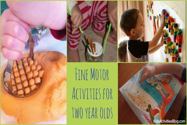 Two year olds 30 activities for having fun for Fine motor skills activities for 2 3 year olds