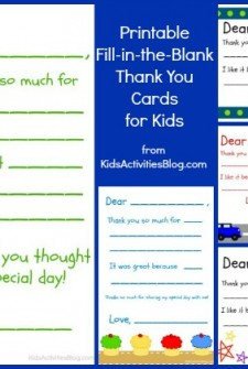 fill in blank kids thank you card