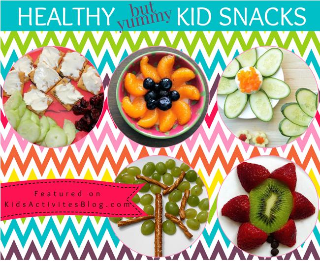 7 {Yummy} Healthy Snacks for Kids