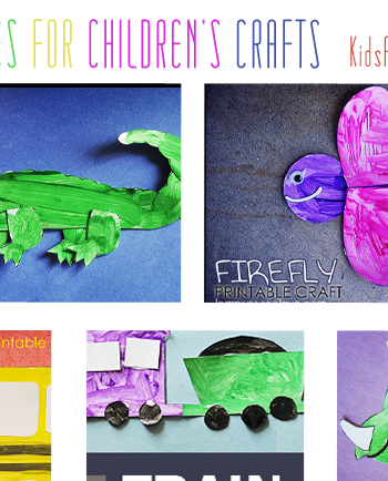 Free Printables for Children's Crafts