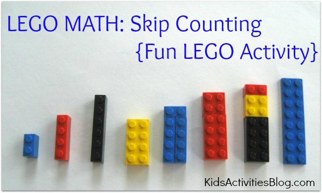 Number Names Worksheets skip counting activity : Lego Math: Skip Counting {Fun LEGO Activity}