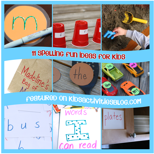 11 Spelling Fun Ideas for Kids