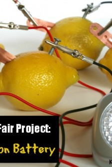 Great science fair project: Make a Lemon Battery {Lemon Power!}