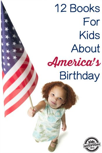 12 books for kids about americas birthday