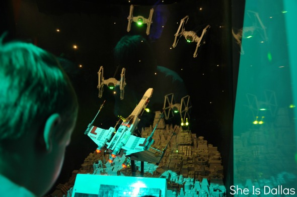LEGOLAND DIscovery Center Star Wars game