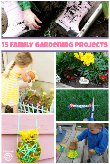 15 Fun Family Gardening Projects