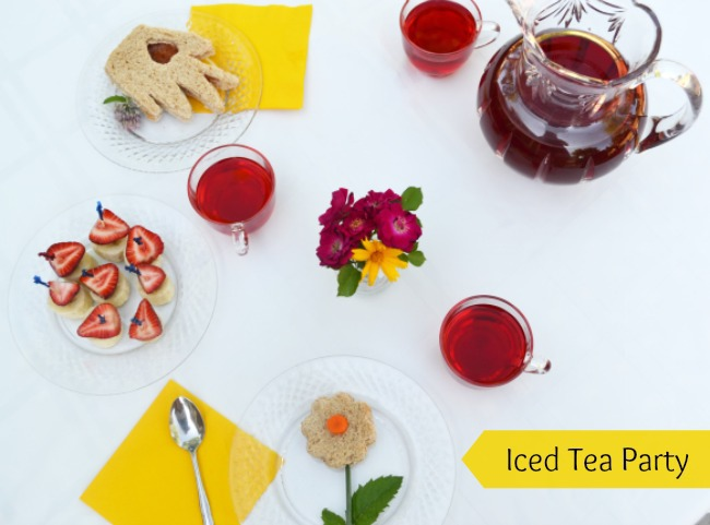 Homemade Iced Tea Party