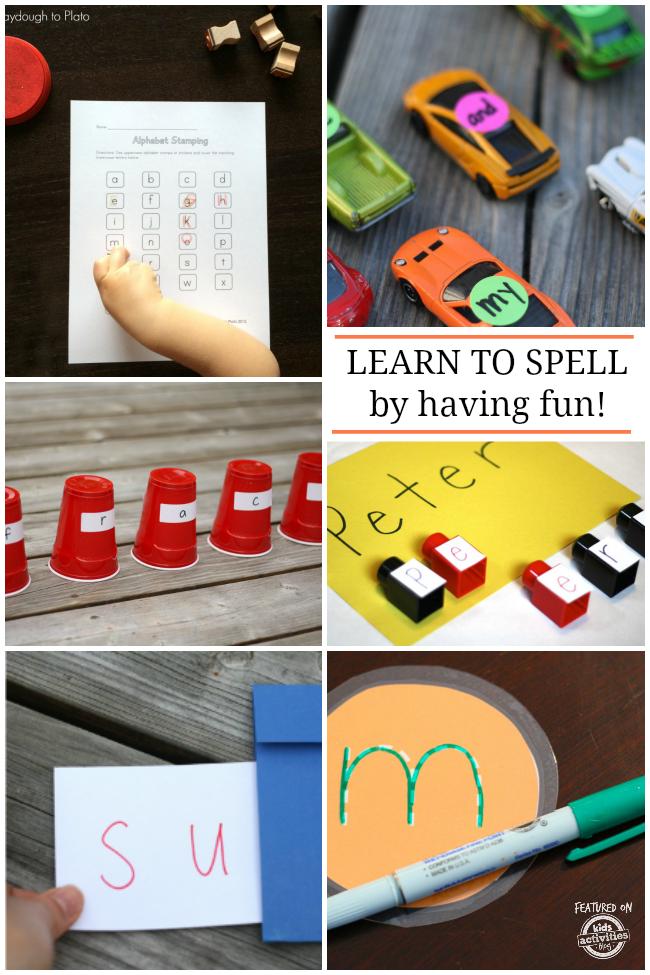 11 Fun Spelling Ideas for Kids