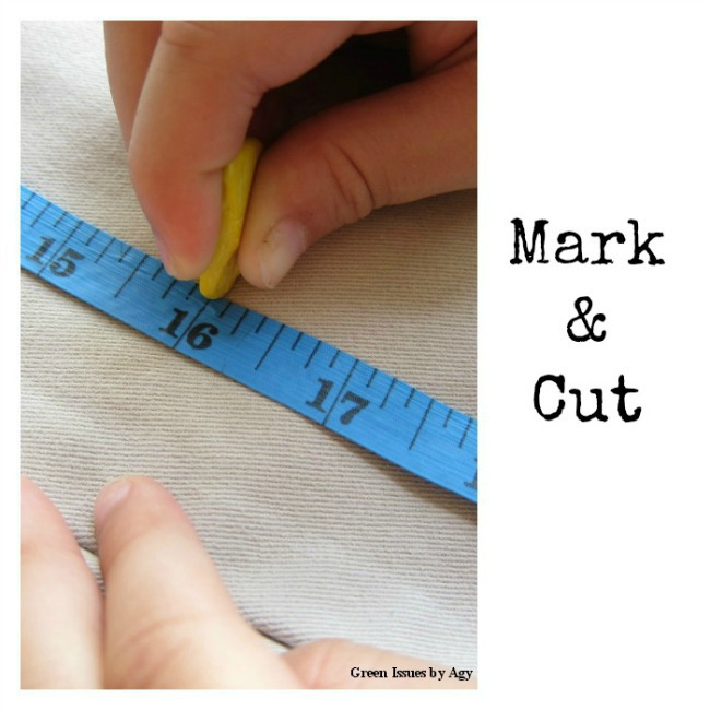 Upcycling Ideas for Kids - Try this easy sewing project {refashion clothes}