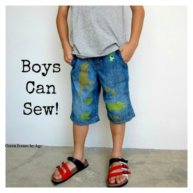 Easy Sewing Project for Kids! Refashion clothes from their closet