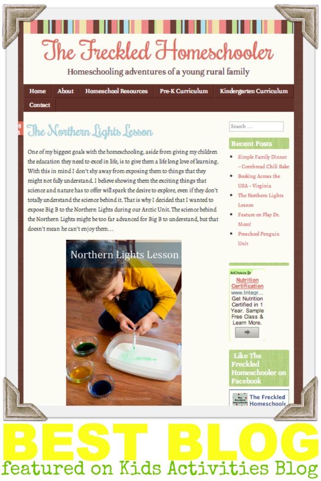 The Freckled Homeschooler