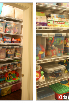 Toys Toys Toys {How to Organize}