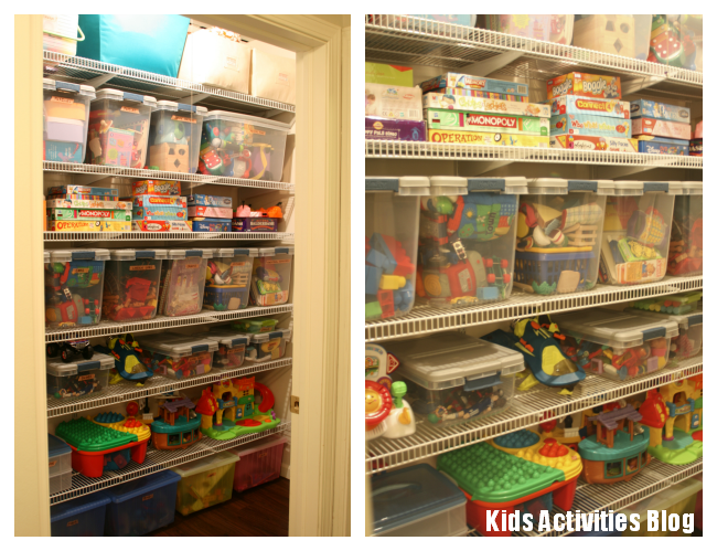 Toys toys toys how to organize Closet toy storage ideas