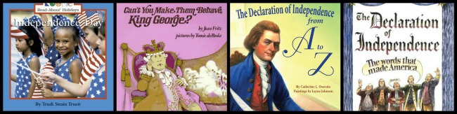 best books for independence day with kids