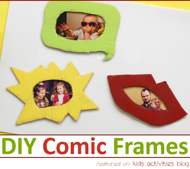 Photo Fun: Make a Photo Frame {Cute Photo Display}
