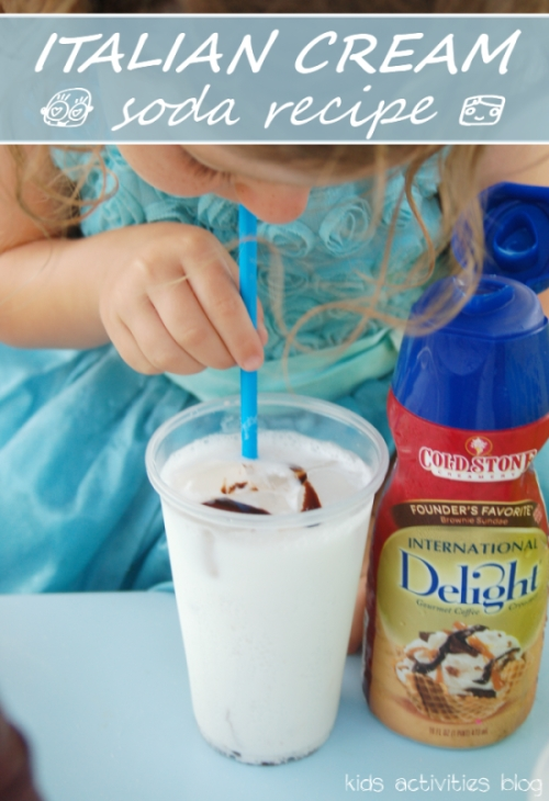 Tasty cream soda recipe - using coffee creamer