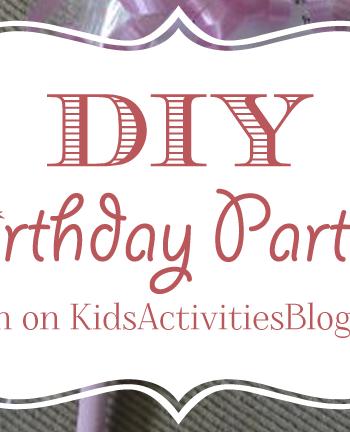 5 DIY Birthday Party Ideas