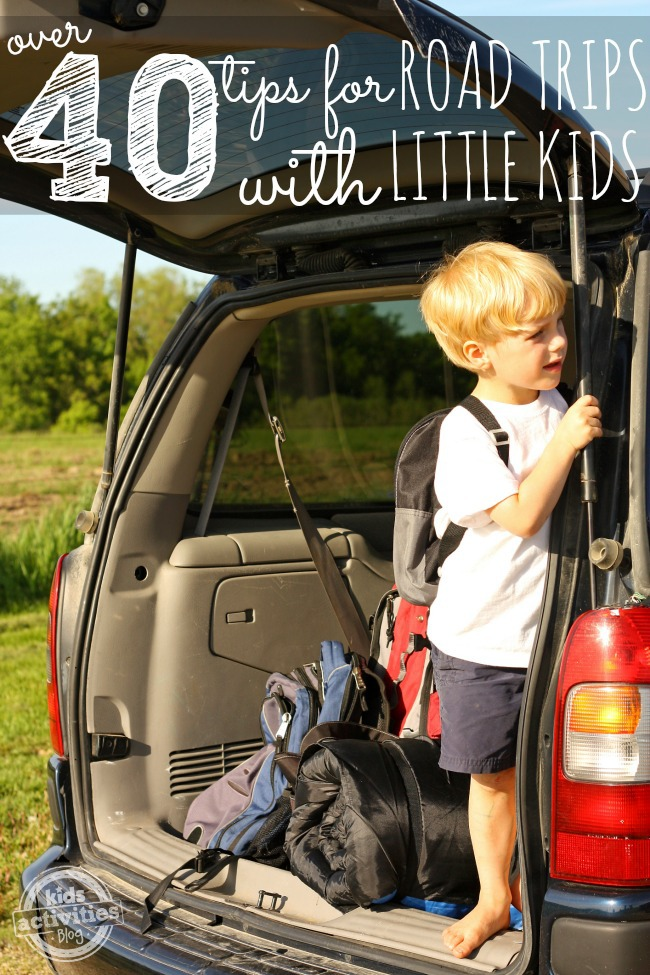 over 40 tips for road trips with little kids