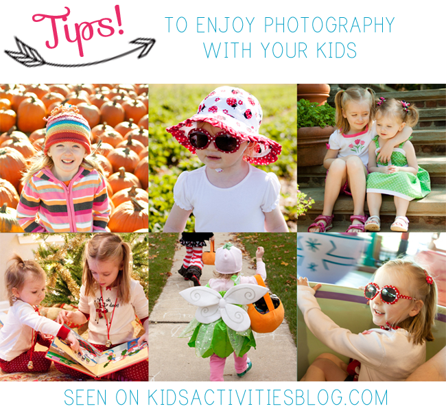 Tips to Enjoy Photography With Your Children
