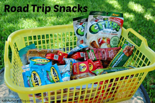 Healthy Road Trip Snacks for Kids! {Eating on the Road}
