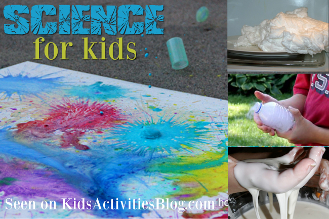 6 Science for Kids Activites