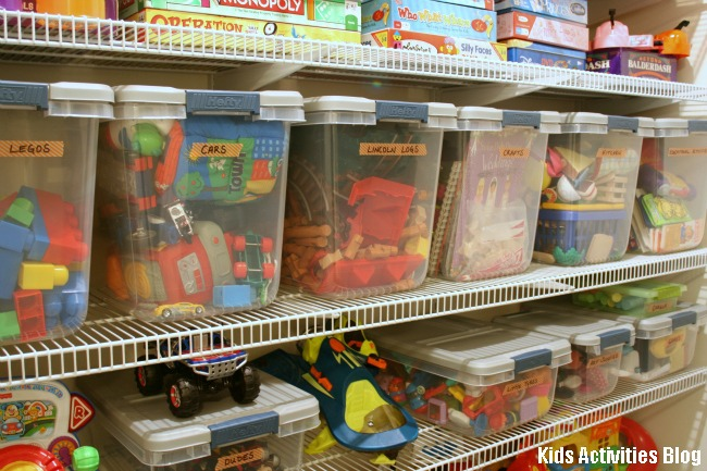 toys toys toys for kids {how to organize it all}