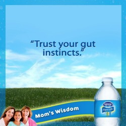 trust your gut instincts