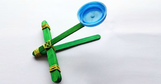 Easy And Fun Catapult For Kids To Make