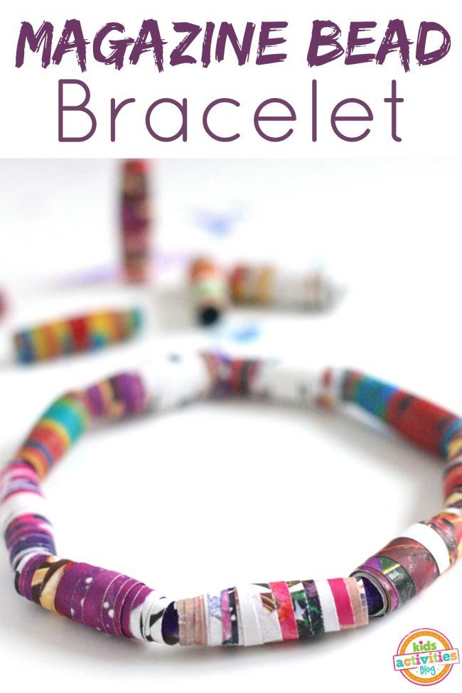 Magazine Bead Bracelets