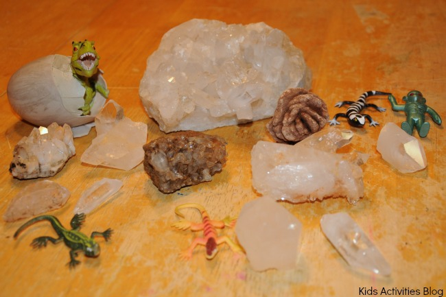 A homemade crystal mine produced lots of loot for our kids {make Earth Science fun!}