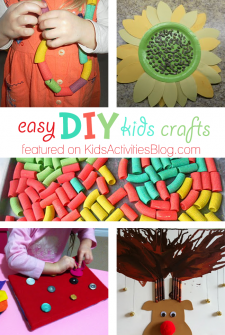 5 Easy DIY Kids Crafts – Simple Things to Do at Home