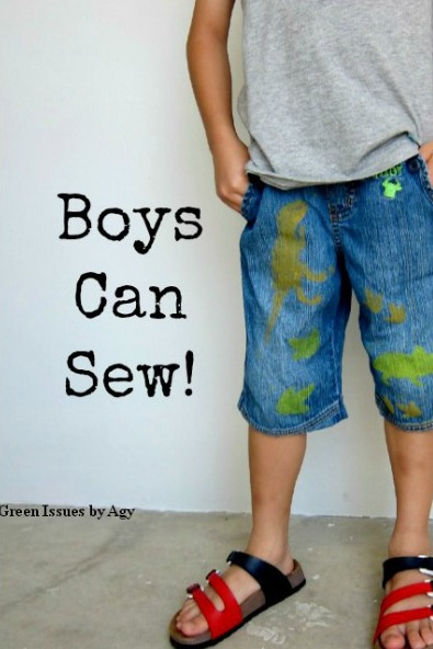 Easy Sewing Project Refashion