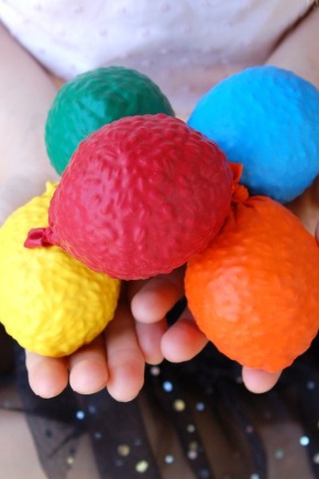 balloon balls DIY